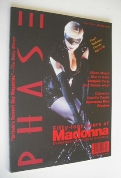 Phase magazine - Madonna cover (May 1994 - Issue 3)