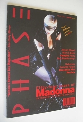 <!--1994-05-->Phase magazine - Madonna cover (May 1994 - Issue 3)