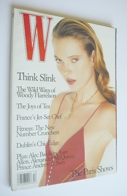 <!--1996-12-->W magazine - December 1996 - Kate Moss cover