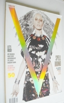 V magazine - Winter 2007/08 - Raquel Zimmermann cover