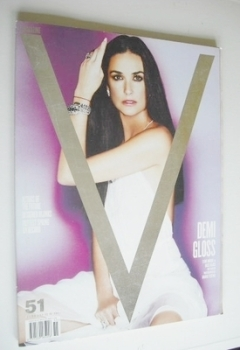 V magazine - Spring Preview 2008 - Demi Moore cover