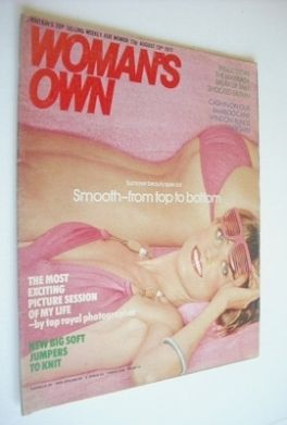<!--1977-08-13-->Woman's Own magazine - 13 August 1977