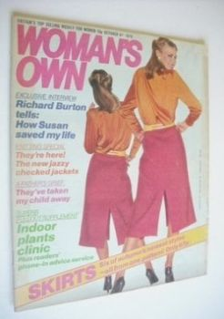 <!--1979-10-06-->Woman's Own magazine - 6 October 1979