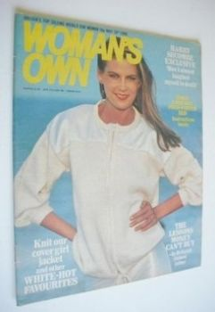 Woman's Own magazine - 10 May 1980