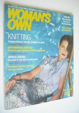 <!--1978-01-21-->Woman's Own magazine - 21 January 1978