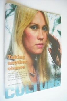 Culture magazine - Agnetha Faltskog cover (12 May 2013)
