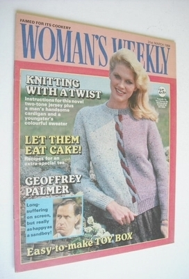 <!--1984-03-31-->Woman's Weekly magazine (31 March 1984 - British Edition)
