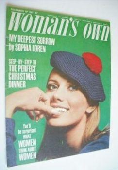 <!--1967-12-16-->Woman's Own magazine - 16 December 1967