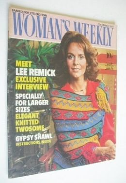 <!--1977-03-12-->Woman's Weekly magazine (12 March 1977 - British Edition)