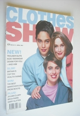 <!--1991-04-->Clothes Show magazine - April 1991