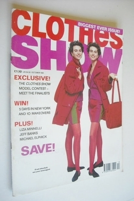 <!--1991-10-->Clothes Show magazine - October 1991