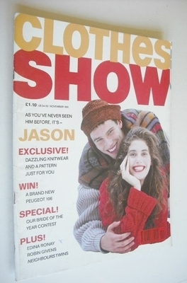 <!--1991-11-->Clothes Show magazine - November 1991