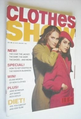 <!--1992-01-->Clothes Show magazine - January 1992