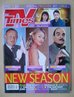 <!--2004-08-28-->TV Times magazine - 28 August-3 September 2004