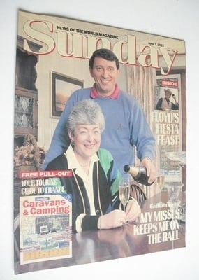 <!--1992-06-07-->Sunday magazine - 7 June 1992 - Graham Taylor cover
