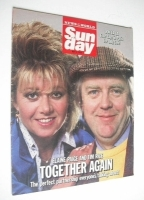 <!--1986-05-04-->Sunday magazine - 4 May 1986 - Elaine Paige and Tim Rice cover
