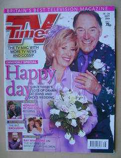 <!--2004-09-18-->TV Times magazine - Elizabeth Estensen and Clive Hornby co