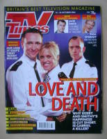 <!--2004-10-16-->TV Times magazine - Alex Walkinshaw, Beth Cordingly and Todd Carty cover (16-22 October 2004)
