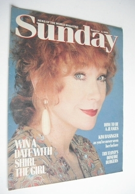 <!--1990-11-04-->Sunday magazine - 4 November 1990 - Shirley Maclaine