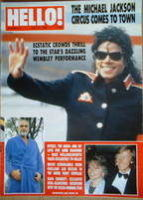 <!--1988-07-23-->Hello! magazine - Michael Jackson cover (23 July 1988 - Issue 10)
