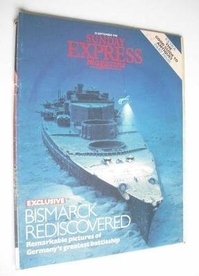 <!--1990-09-23-->Sunday Express magazine - 23 September 1990 - Bismarck Red