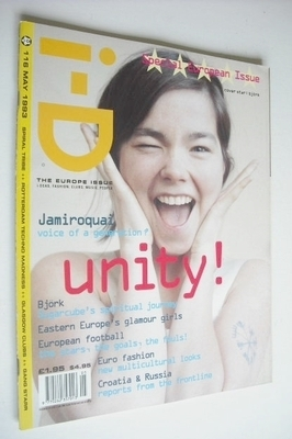 <!--1993-05-->i-D magazine - Bjork cover (May 1993 - Issue 116)