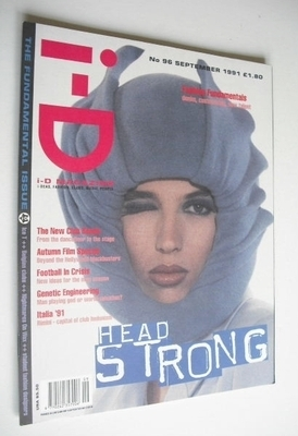 <!--1991-09-->i-D magazine - Michelle Geddes cover (September 1991 - Issue