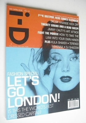 <!--1996-10-->i-D magazine - Let's Go London cover (October 1996 - Issue 15