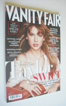 Vanity Fair magazine - Taylor Swift cover (April 2013)