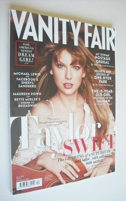 <!--2013-04-->Vanity Fair magazine - Taylor Swift cover (April 2013)