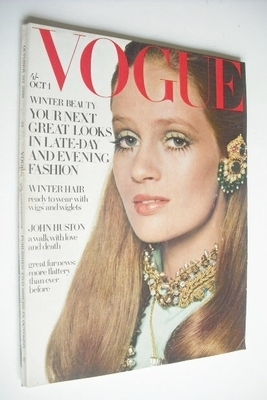 <!--1968-10-01-->British Vogue magazine - 1 October 1968 - Celia Hammond co
