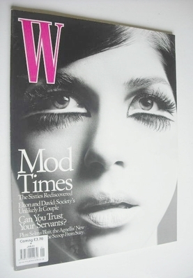 <!--2003-01-->W magazine - January 2003 - Selma Blair cover