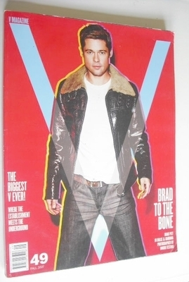 <!--2007-09-->V magazine - Fall 2007 - Brad Pitt cover