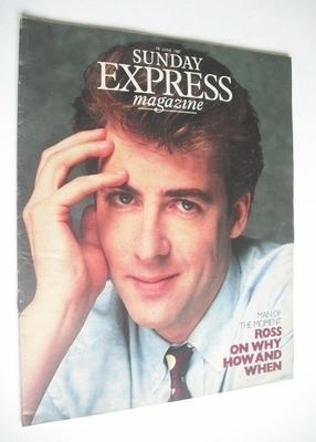 <!--1987-06-28-->Sunday Express magazine - 28 June 1987 - Jonathan Ross cov
