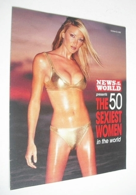 <!--2000-10-22-->News Of The World supplement - The 50 Sexiest Women In The