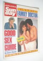 <!--1988-08-14-->Sunday magazine - 14 August 1988 - Linda Lusardi cover
