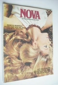 NOVA magazine - May 1968 - Princess Pignatelli cover