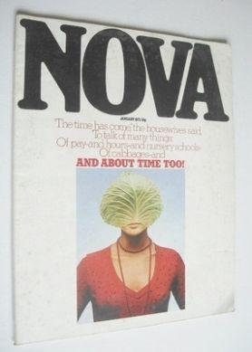 <!--1975-01-->NOVA magazine - January 1975