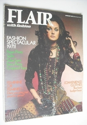 Flair magazine (January 1971)