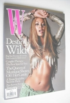 W magazine - May 2002 - Beyonce cover