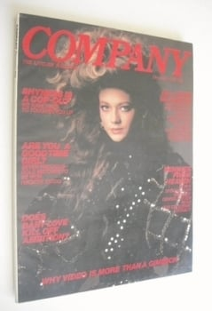 Company magazine - December 1981 - Sophie Ward cover