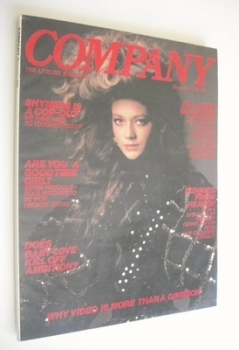 <!--1981-12-->Company magazine - December 1981 - Sophie Ward cover