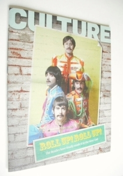 Culture magazine - Roll Up Roll Up cover (16 September 2012)