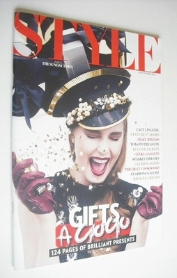 <!--2012-11-18-->Style magazine - Gifts A Go Go cover (18 November 2012)