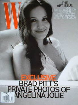 <!--2008-11-->W magazine - November 2008 - Angelina Jolie cover