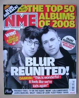 <!--2008-12-13-->NME magazine - Graham Coxon and Damon Albarn cover (13 Dec