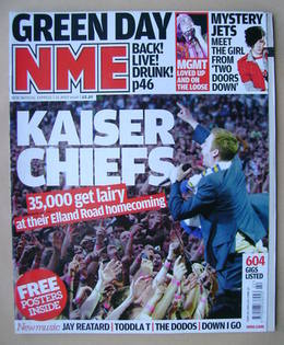 <!--2008-05-31-->NME magazine - Ricky Wilson cover (31 May 2008)