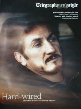 Telegraph Style magazine - Sean Penn cover (Spring/Summer 2009)