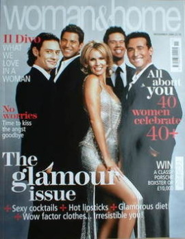 Woman & Home magazine - November 2006 (Il Divo and Leigh Zimmerman cover)