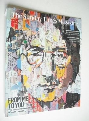 <!--2012-10-07-->The Sunday Times magazine - John Lennon cover (7 October 2